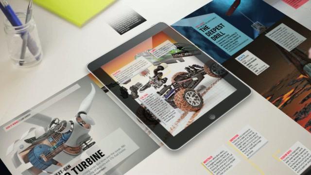 Magazine App Promotion